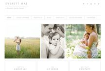 WordPress Themes / WordPress themes for artists and photographers