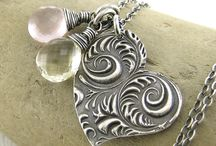 metal clay jewelry by art