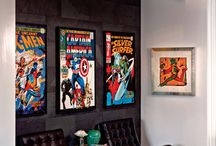 mal's Marvel room / a room in my house dedicated to the thing I owe my very life to. Marvel.  / by malyree marvel hancock