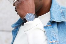 Men's fashion watches / NOWA watches worn by fans and reviewers.
