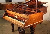 1830 -1840 Piano Case Styles / 1830 - 1840 Piano Case Styles