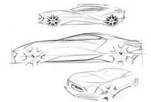 .Car. Sketch