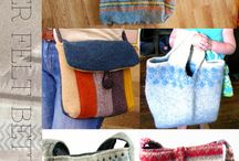 wet felting projects