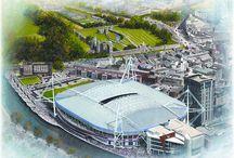 National Stadiums in Art / Buy stunning Stadia Art as great gift ideas @ www.sportsstadiaart.com