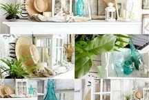 Coffee Table Bookcase & Centerpiece Design