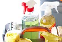 Cleaning/Organizing, etc