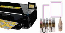 Edible Ink Printers / Icing Images' edible printer kits come with edible ink cartridges and Premium Icing Sheets.