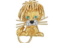 ANIMALS & JEWELS / Animaux Joaillerie Broches Jewellery