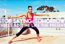 Fitness  / Inspiring you to live a healthy lifestyle