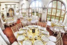 Salón Iturbide / Pequeño salón, con capacidad de 80 personas, ideal para desayunos ya que tiene una bella vista al jardín