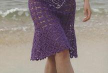 Horgolt szoknyák / Crochet skirts