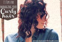 Curly Hair / nice dos i'll probably never do ;)