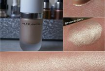 #CoconutGlow / Board with some highlighter inspiration from #coconutglow highlighter