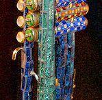 Korps / Samiling av sider som omhandler Brassband