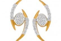 Gold earrings gili gel291