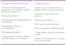 Vestibular Activity ideas