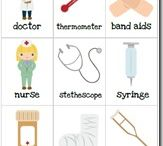Sproggruppe - hospital lege