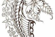 Cook Island tattoo design