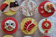 Chinese new year cakes n pastry