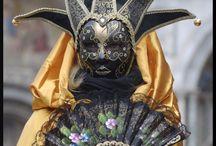 Masks / Venetian, tribal, native masks