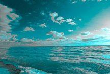 Aqua, Teal, Turquoise, Tiffany Blue / by Dawn Wilson