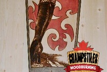 Custom Skateboards / Champstiles can make and/or woodburn your own custom skateboard or longboard.