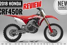 2018 Honda CRF450R Review / Specs | CRF Dirt Bike / Motorcycle - CRF450 R