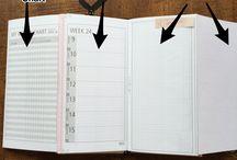 Travelers Notebook planner