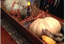 Decorating with Antiques for Fall