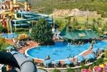 Splash World in Monteux is only 5 miles from our house in Carpentras!