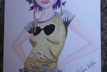 Meus desenhos.