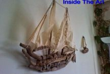 Driftwood / καραβια απο θαλασσοξυλα