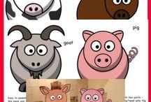 Farm Theme Preschool Activities