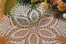 One pin many crochet doily patterns