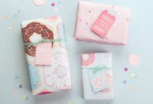 Gift wrapping / Gift wrapping - inspiration, ideas and printables