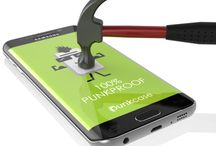 GALAXY NOTE 7 BLACK SCREEN PROTECTOR, PUNKCASE GLASS SHIELD ! / Galaxy Note 7 Black Screen Protector, Punkcase Glass SHIELD Samsung Galaxy Note 7 Tempered Glass Screen Protector 0.33mm Thick 9H Glass Screen Protector Punkcase Glass SHIELD is build with the highest quality tempered glass to obtain the best HD clear visibility. Punkcase Glass SHIELD covers the whole screen unlike other screen protectors from competitors. It also has 3D rounded edges, 0.33mm thick and has 9H hardness for superior protection.
