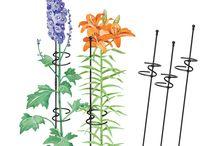podpórki do kwiatów