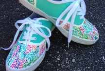 Lilly Pulitzer Art Floral Pattern