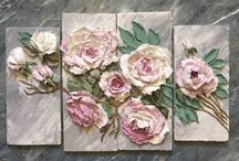 pallette knife painting