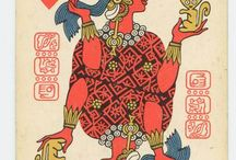 Maya playing cards from Russia