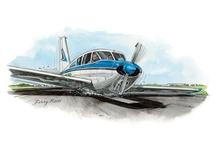 Aviation Art / Great aviation art and illustrations.
