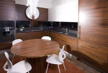 Cucine Legno,Wooden Kitchen,Cucine su misura,Customized Kitchen /  Designed and realized to measure by Radice Arredamenti