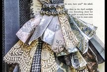 Vestidos de papel.
