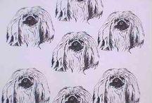 My Favorite Animal Fabric, Dog Fabric Hot Diggity Dog Fabrics™ / Favorite Dog Print Fabrics