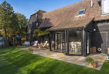 Beautiful Barn / Origin are the UK's leading specialist manufacturer of bespoke aluminium Bi-folding Doors, Windows and Blinds Origin's products combine high grade aluminium with precision engineering to create functional and elegant products which are designed to last.