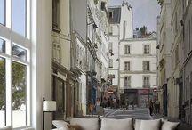 muurschilderingen stijlen architectuur / stijllen