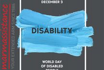 International Day of Persons with Disabilities - 3 December / 3 December is International Day of People with Disability (IDPwD), a United Nations sanctioned day that celebrates progress in breaking down barriers, opening doors, and realising an inclusive society for all.