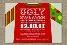Tacky sweater party ideas / by Dedra Lowe