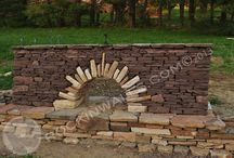 Walls: Dry-laid stone