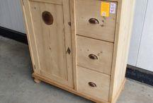 Antique pine furniture